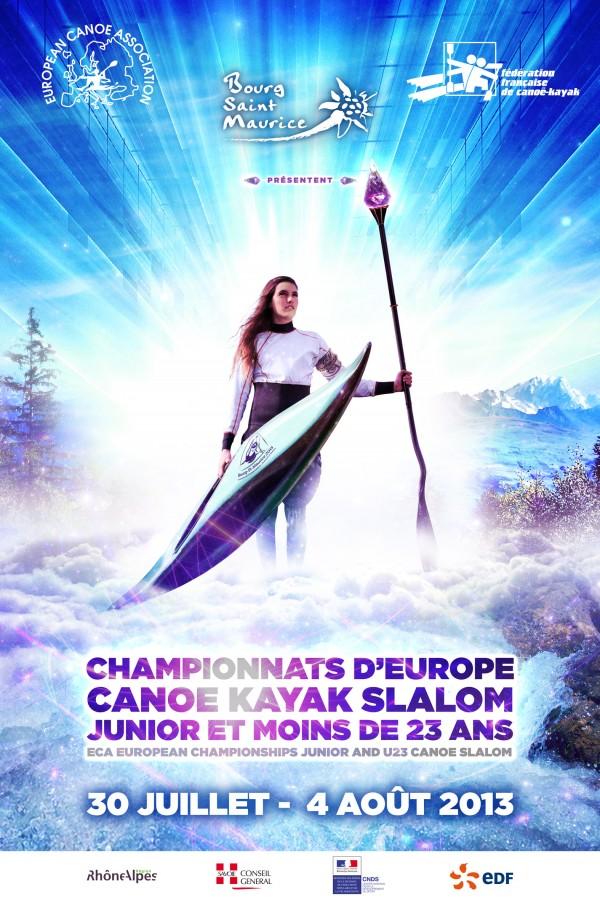 Championnat europe canoe kayak 2013