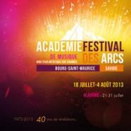 Festival de musique les Arcs 2013