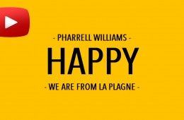 Pharrell Williams – HAPPY – WE ARE FROM LA PLAGNE